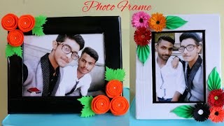 2 DIY Photo frame Ideas|How to make Unique Photo Frame at Home|Cardboard Photo Fame|Diy-Paper-Carfts