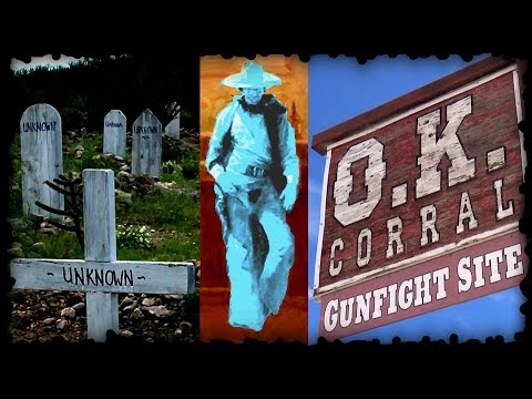 Tombstone Arizona OK Corral Ghost Hunting Doc Holliday Bird Cage Theater Boothill Graveyard