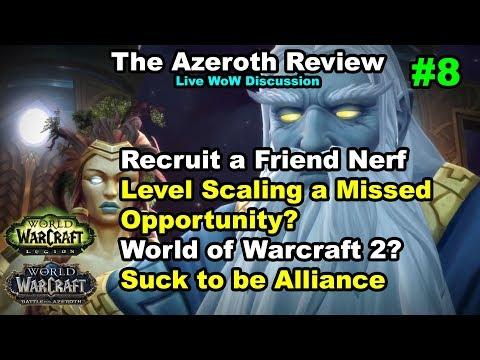 Recruit a Friend Changes, Metzen's Secret, WoW 2 | The Azeroth Review #8