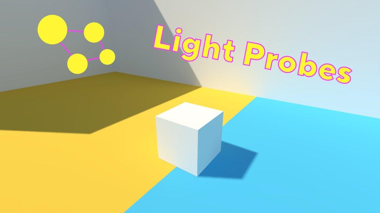 Unity 2017 Tutorial - Light Probes - YouTube