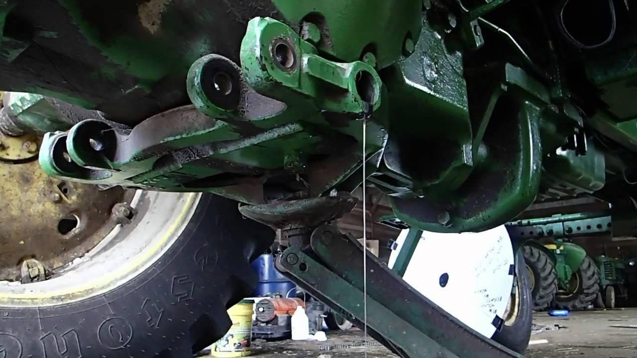 medium resolution of oil leak on the 4230