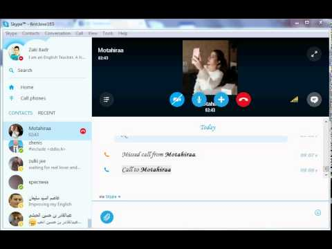 Girl skype id and number
