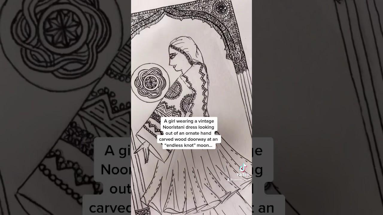 my art: 'Nooristani moon'