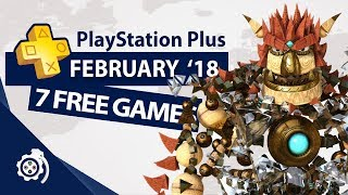 PlayStation Plus (PS+) February 2018