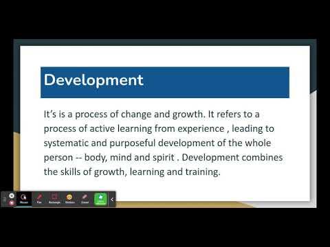 #1 HUMAN RESOURCE DEVELOPMENT IN HINDI   Meaning   BBA/MBA/Bcom Explain By Mansi Khokran