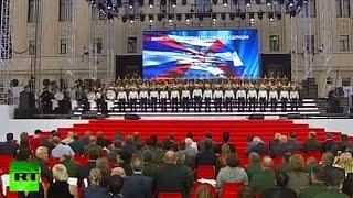 В Москве прошел первый ежегодный фестиваль «Армия России»