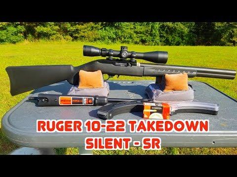 Ruger 10-22 Takedown Silent SR