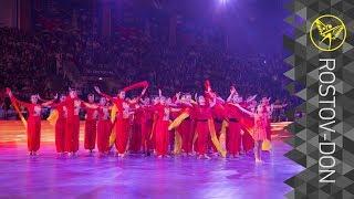 Владлена Бобровникова на открытии Спартакиады