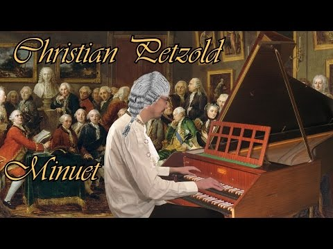 Christian Petzold  Minuet in G major Harpsichord & Piano