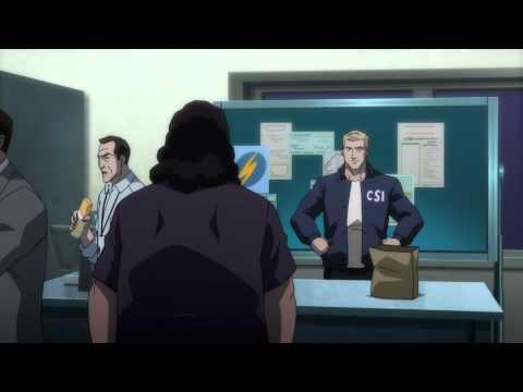 Justice League War Flash Burrito Scene