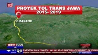 Ruas Tol Trans Jawa Mayoritas Ditargetkan Rampung 2018