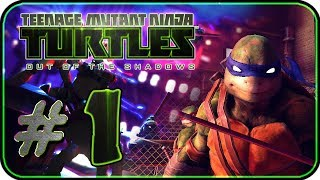 Teenage Mutant Ninja Turtles: Out of the Shadows Walkthrough Part 1 (PC, X360, PS3) Chapter 1