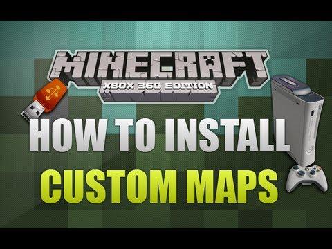How To Install - Minecraft Xbox 360 Custom Maps (Voice Tutorial)