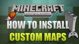 How To Install - Minecraft Xbox 360 Custom Maps (Voice Tutorial)