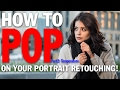 How to POP Your Subject From The Scene in PhotoshopCC PART 2: Temperature