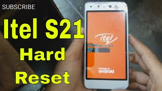 itel S21 Hard Reset || how to unlock pattern itel S21 easy solution
