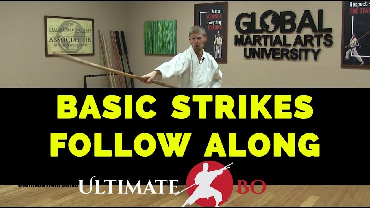 Download Beginner Bo Staff - Basic Strikes Follow Along Practice