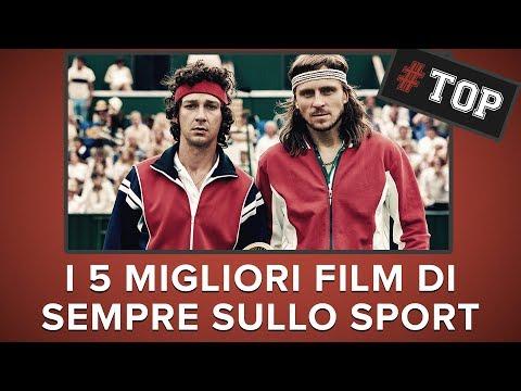 I 5 migliori FILM sullo SPORT | #BorgMcEnroe
