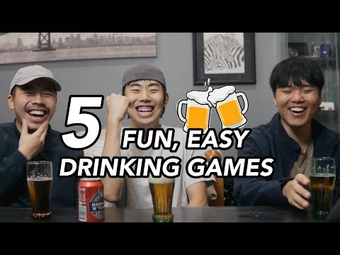 Drinking Games To Play With Your Friends
