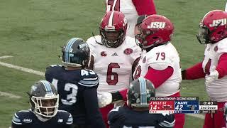 Jacksonville State Football 2018 - vs. University of Maine