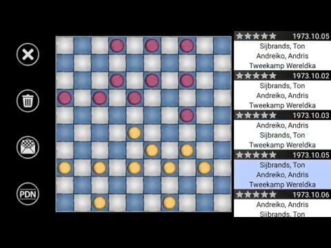 Dr Checkers 6.0 : International Draughts for professionals