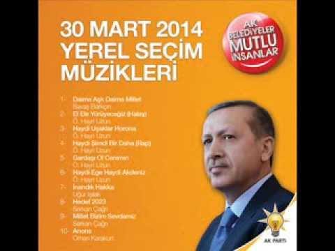 Ak Parti 2014 Yerel Seçim Müzikleri Hedef 2023!