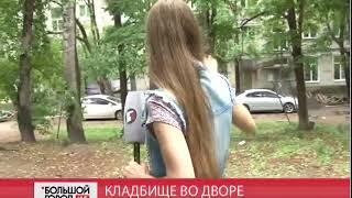 Кладбище домашних животных в хабаровском дворе. Большой город. live. 06/06/2018. GuberniaTV