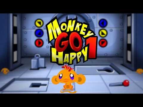 """Игра """"Счастливая Обезьянка 1"""" (Monkey GO Happy 1) - прохождение"""