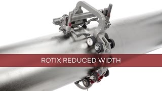 ROTIX - Reduced Width Chain Scanner for Phased Array Weld Inspection