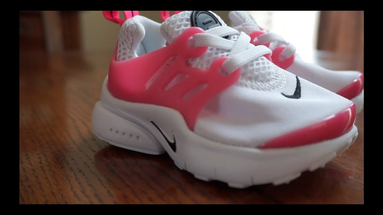 d3dfa3bed6f Nike Presto Toddler with Emery! Pink and White color way