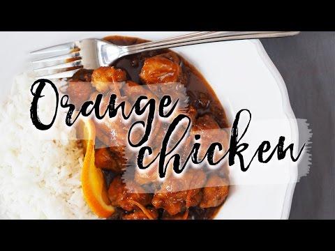 Pomerančové kuře