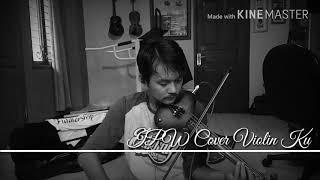 """Belajar lagu """"Indah Pada Waktunya"""" Cover Violin Zeta Ku"""