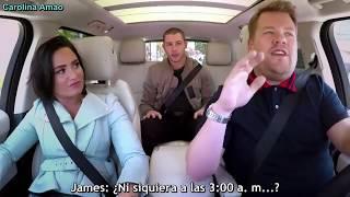 Demi Lovato & Nick Jonas Carpool Karaoke「Sub Español」P. 1   By Carolina Amao