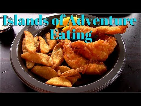 All Day Eating At Universal Studios Islands Of Adventure Theme Park