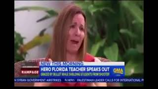Hero Florida teacher speaks out, Cruz may NOT have been the shooter!