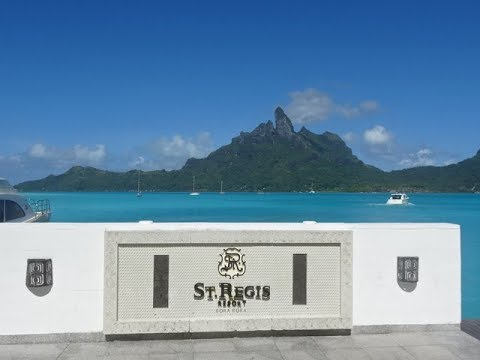 St Regis Resort, Bora Bora, French Polynesia