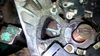 Ремонт генератора (80а) автомобиля Samand