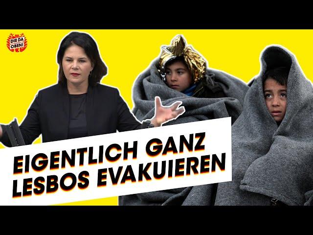 Grünen-Chefin Baerbock zur Lage an EU-Außengrenze