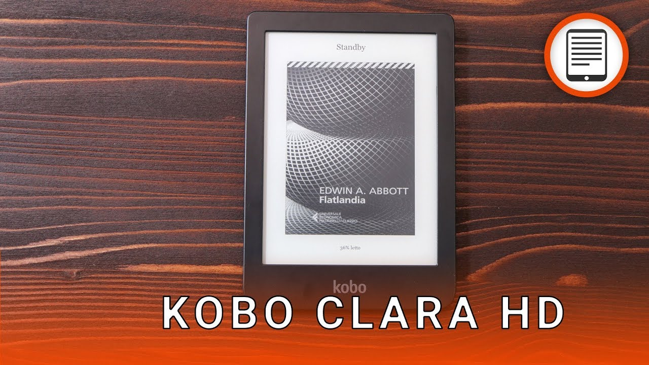 Kobo clara hd scacco matto a kindle paperwhite recensione youtube