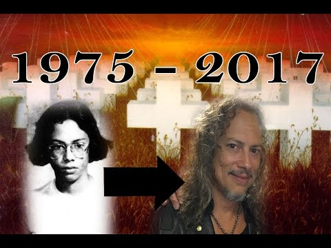 KIRK HAMMETT'S CHANGE (1975 - 2017) HD