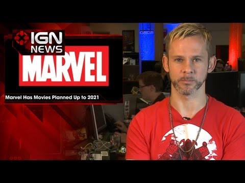 IGN News - Marvel Studios Has Movies Planned Up to 2021
