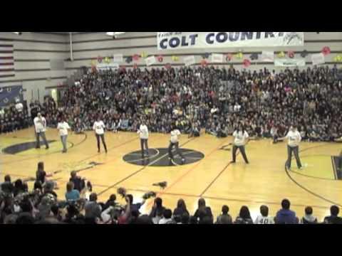 Free Ms Office >> Canarelli Middle School Spirit Week 2/17/12 - YouTube
