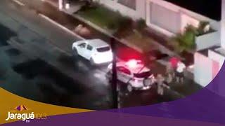 Soldado da PM é atingido por soco durante ocorrência