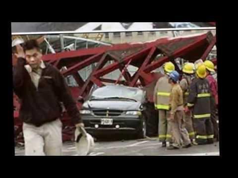 รถเครนล้ม รถเครนคว่ำ รถเครนอุบัติเหตุ สำหรับสอนพนักงานเอสพีเค02