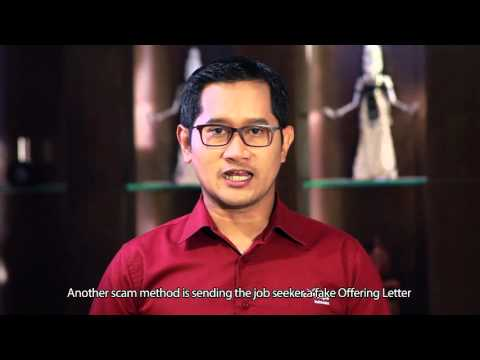 ConocoPhillips Indonesia Recruitment Scam Video