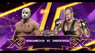 WWE 2K15: WrestleMania (Undertaker V The Quagster)