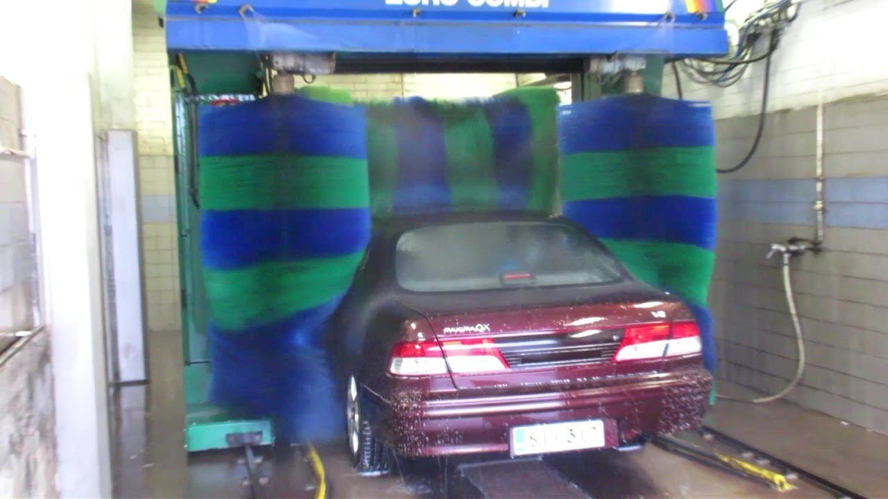 Very Old Kleindienst Euro Combi Car Wash Youtube