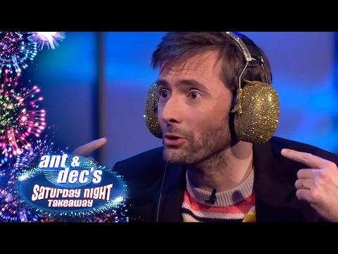 David Tennant Plays The Read My Lips Challenge - Saturday Night Takeaway