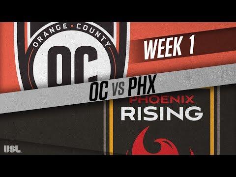 Orange County SC vs Phoenix Rising FC: March 17, 2018