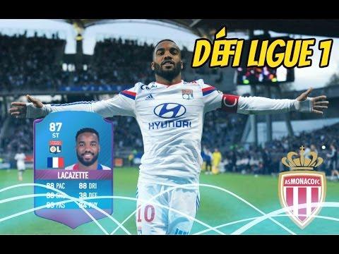 FIFA 17- DÉFI CRÉATION D'ÉQUIPE LIGUE 1 #AS MONACO 1/20